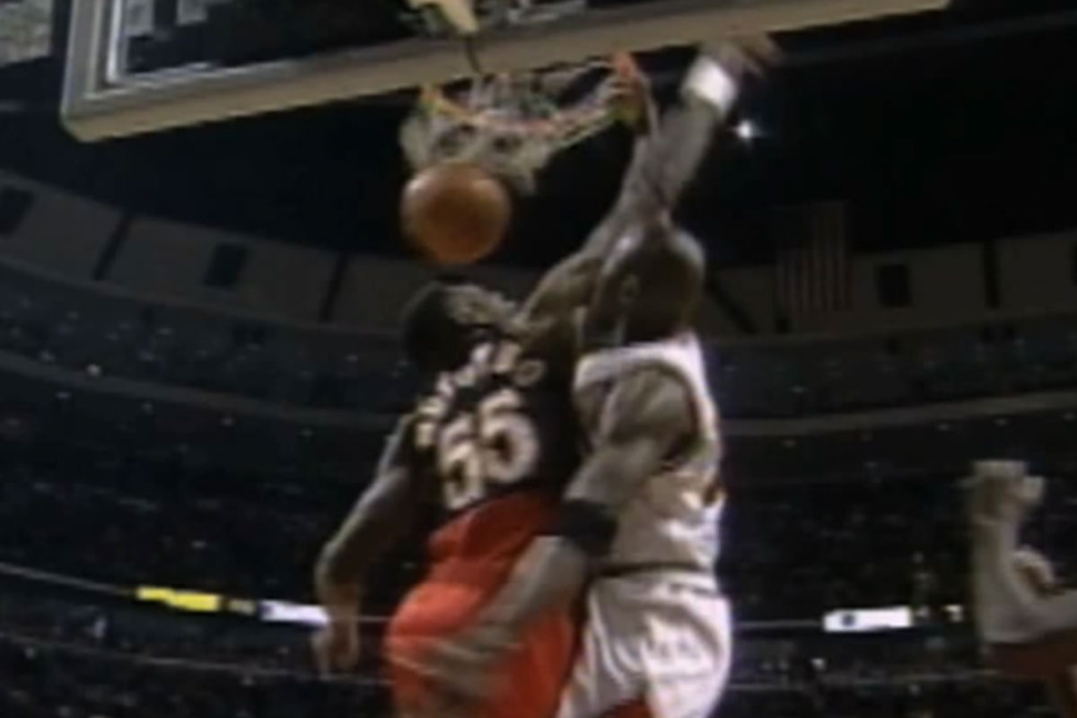 Michael Jordan, Dikembe Mutombo