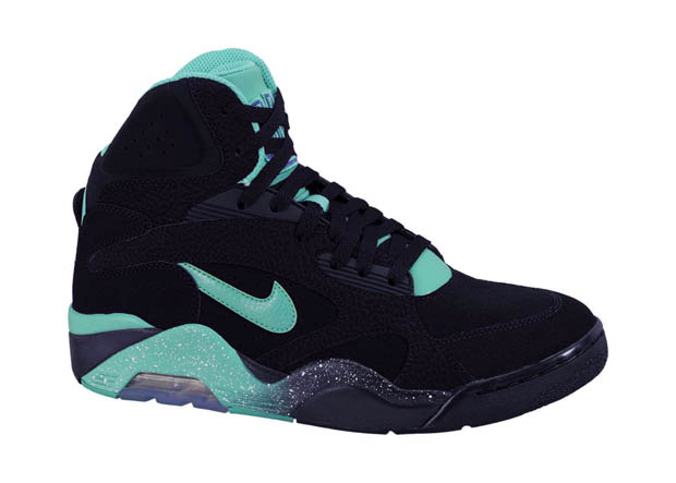 Nike – Air Force 180 'Black/Atomic Teal-Violet'