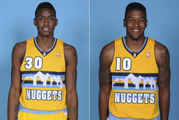 Quincy Miller y Julyan Stone./ Getty Images