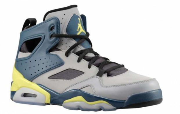 Jordan - Flight Club 91 'Matte Silver/Electric Yellow'