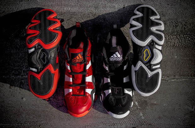Adidas - Crazy 8 'Black/White' y 'University Red'