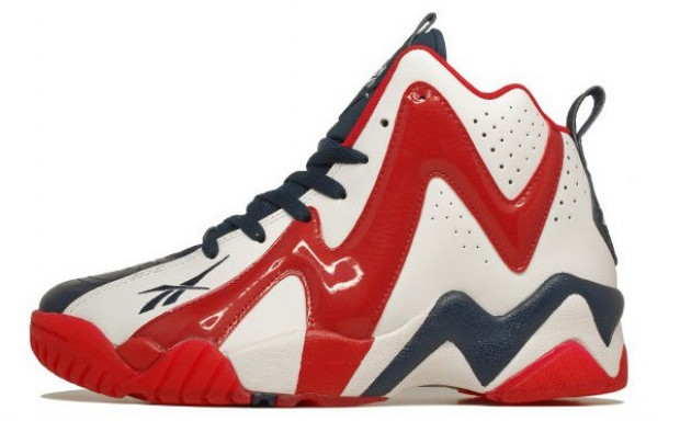 Reebok - Kamikaze II 'White/Red/Navy'