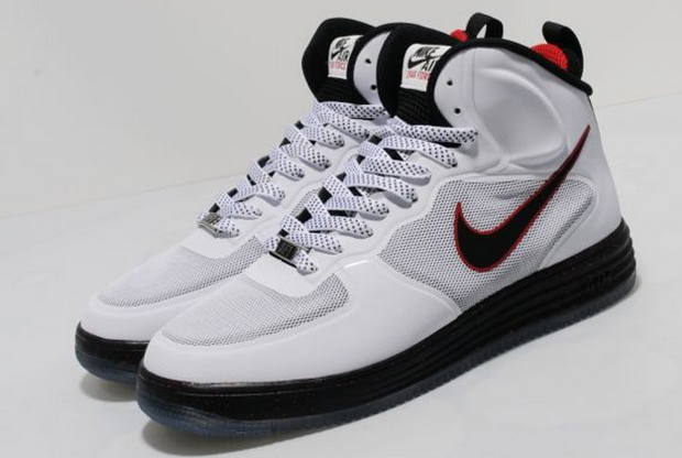 Nike - Lunar Force 1 'White/Black-University Red'