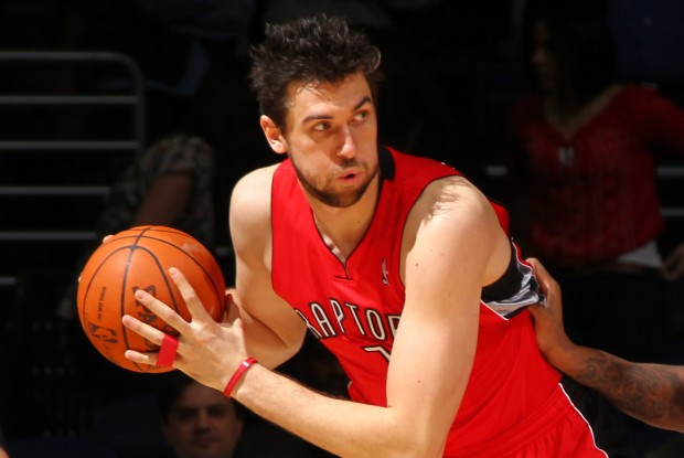 Andrea Bargnani./ Getty Images