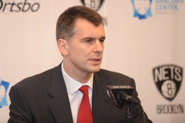 Mikhail Prokhorov./ Getty Images