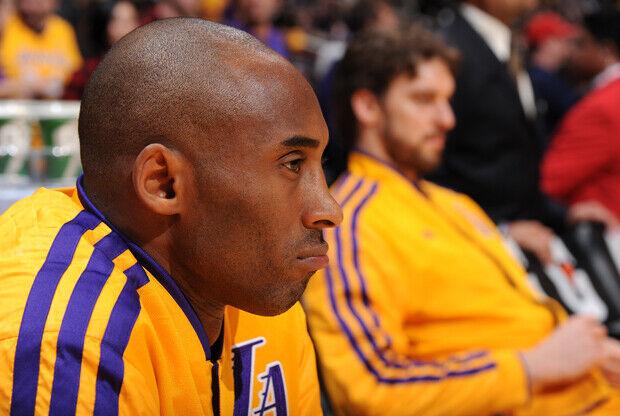 Kobe Bryant y Pau Gasol./ Getty Images