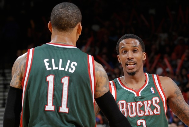 Monta Ellis y Brandon Jennings./ Getty Images