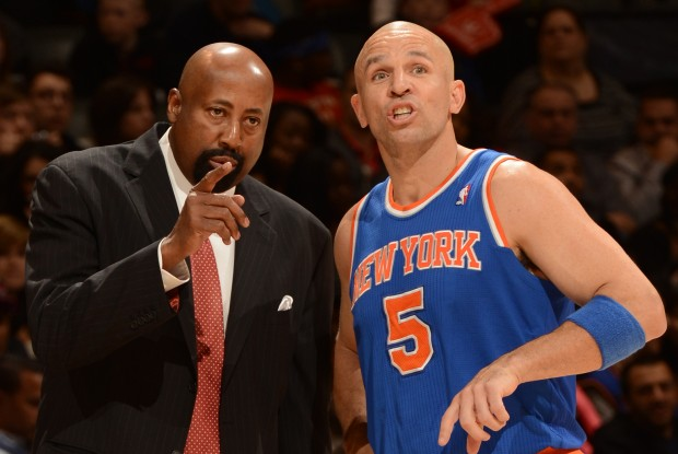 Mike Woodson y Jason Kidd./ Getty Images