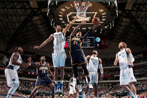 Indiana Pacers vs. Dallas Mavericks./ Getty Images