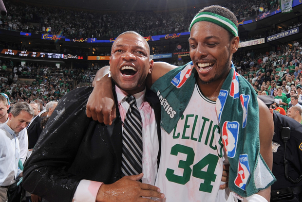 Doc Rivers y Paul Pierce./ Getty Images