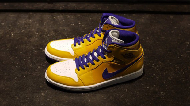 Jordan - I Retro 'Lakers'