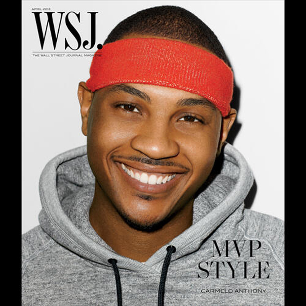 Carmelo Anthony es portada de Wall Street Journal