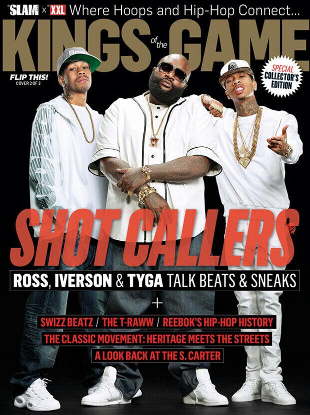 Las revistas SLAM y XXL juntan a Allen Iverson, Rick Ross y Tyga