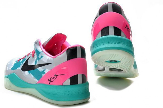 Nike - Zoom Kobe VIII 'South Beach Fireberry'