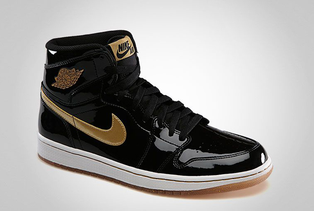 Air Jordan - 1 'Black/Gold Patent'