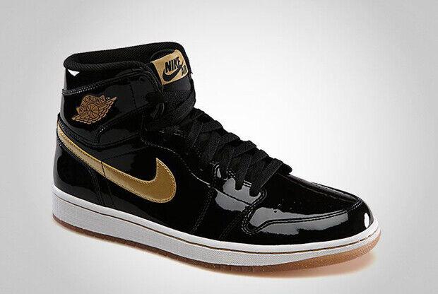 Air Jordan - 1 'Black/Gold Patent'