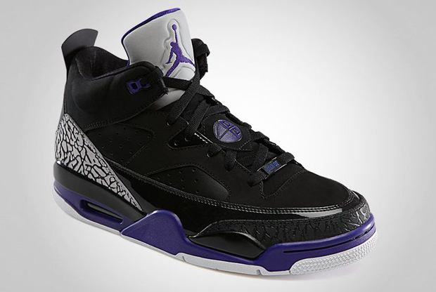 Air Jordan - Son of Mars 'Black/Grape'