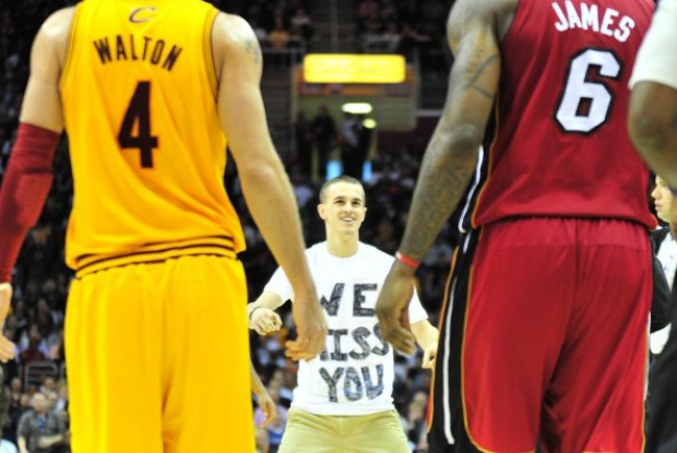 LeBron James fan./ Getty Images