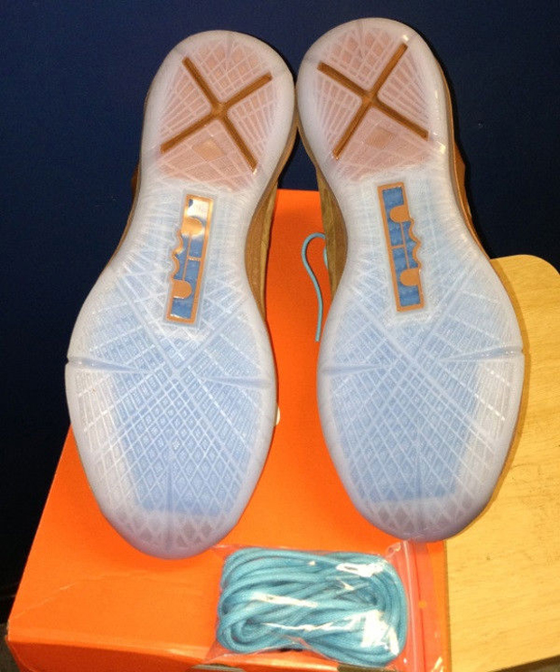 Nike - LeBron X 'Brown Suede'