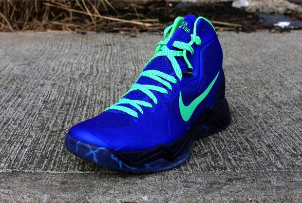 Nike – Zoom Hyperdisruptor 'Hyper Blue/Poison Green'