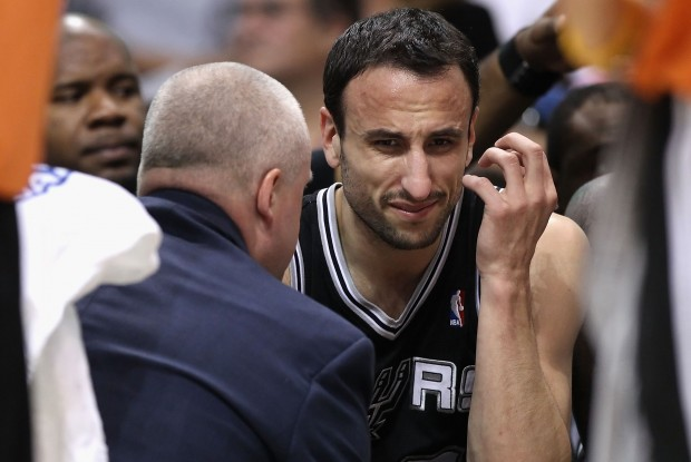 Manu Ginobili./ Getty Images