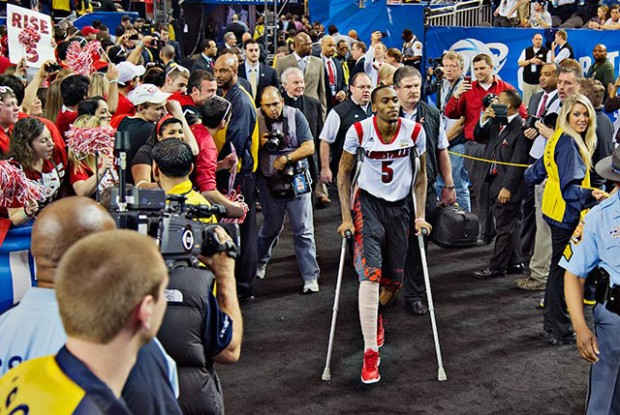 Kevin Ware./ Getty Images