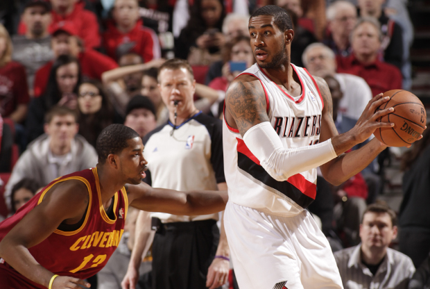 Tristan Thompson y LaMarcus Aldridge./ Getty Images