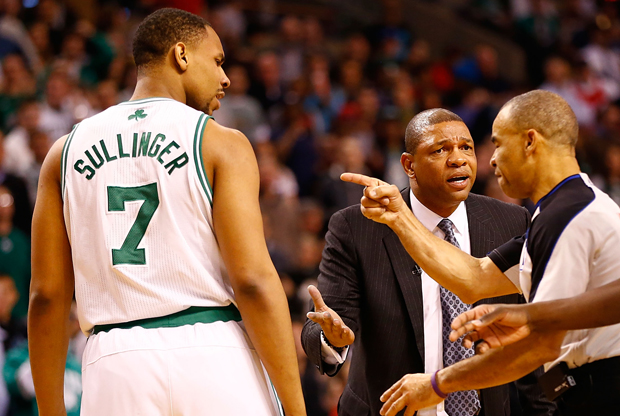 Jared Sullinger y Doc Rivers./ Getty Images