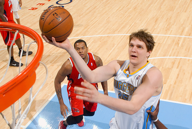 Timofey Mozgov./ Getty Images