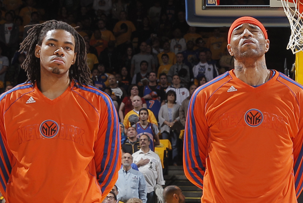 Chris Copeland y Kenyon Martin./ Getty Images