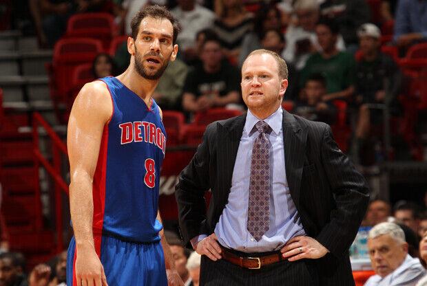 José Calderón y Lawrence Frank./ Getty Images