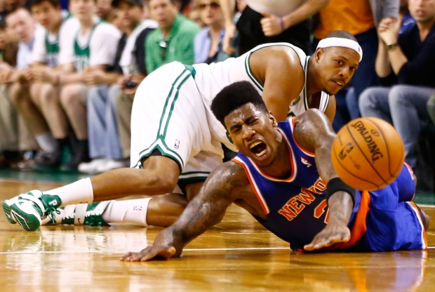 Iman Shumpert y Paul Pierce./ Getty Images