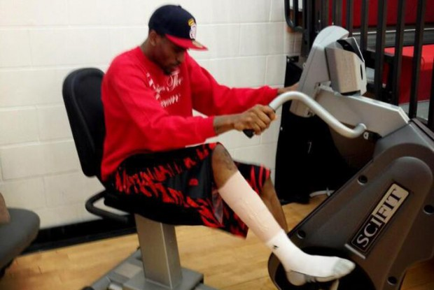 Kevin Ware./ Twitter