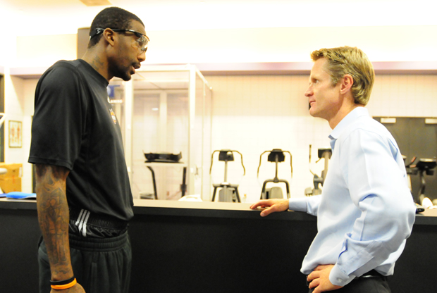 Amare Stoudemire y Steve Kerr./ Getty Images