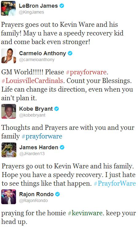 Twitter - Kevin Ware