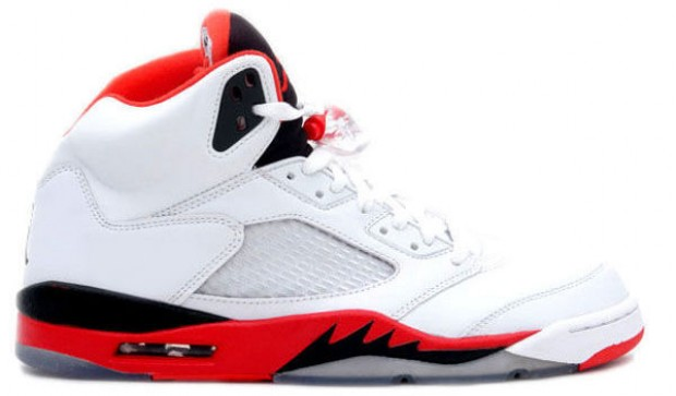 Jordan - V Retro ' Fire Red'