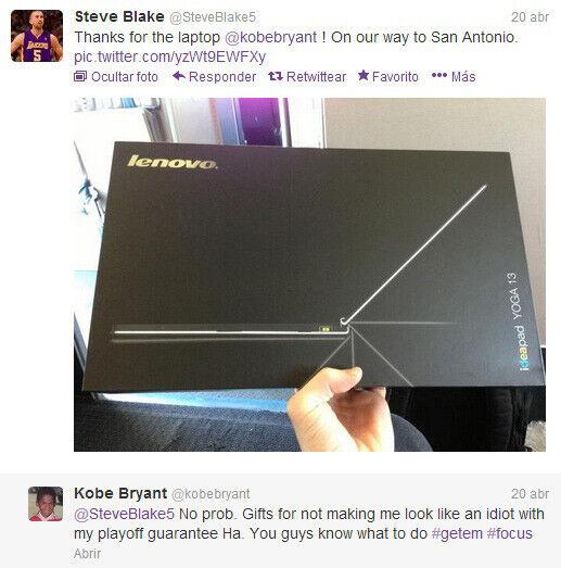 Twitter Steve Blake