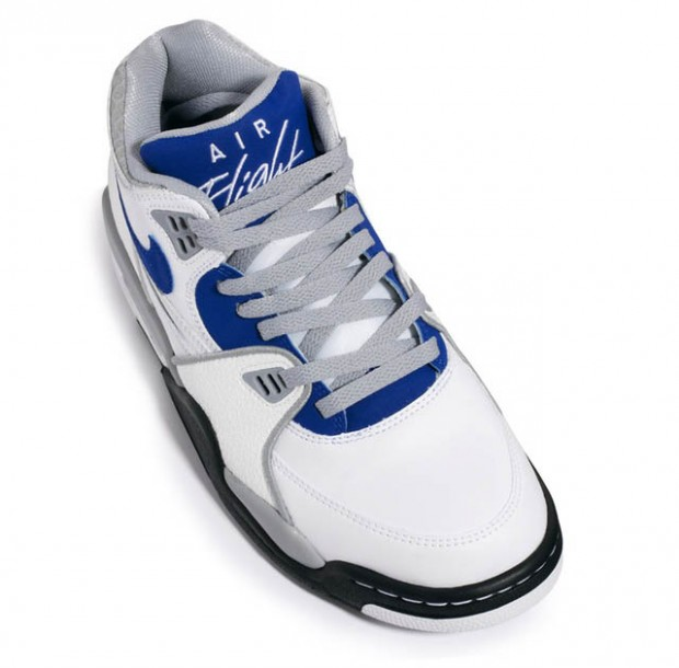 Nike - Air Flight '89 'White/Blue/Grey'