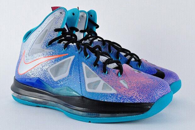Nike - LeBron X 'Pure Platinum'