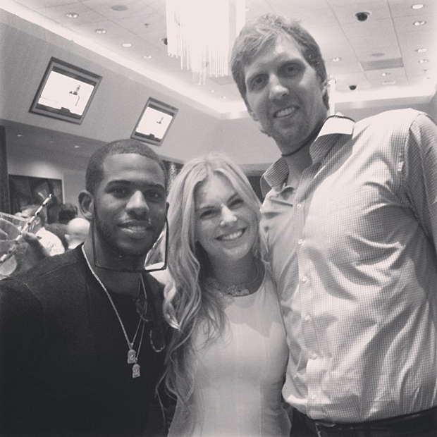 Chris Paul y Dirk Nowitzki