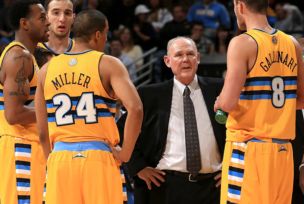 George Karl./ Getty Images