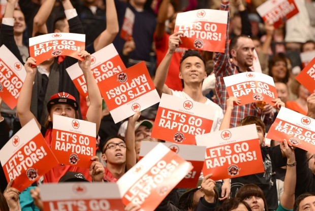 Fans de los Toronto Raptors./ Getty Images