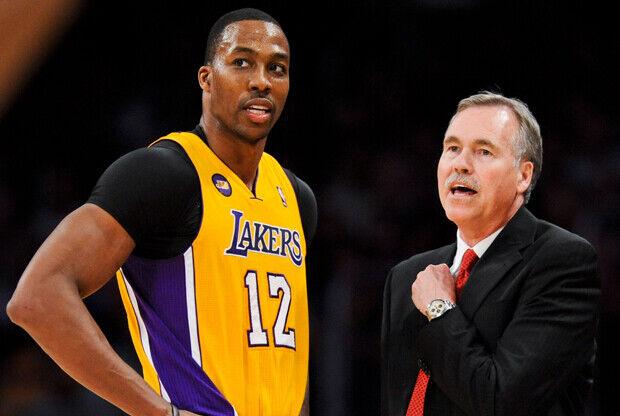 Howard y D'Antoni, grandes fracasos de Lakers