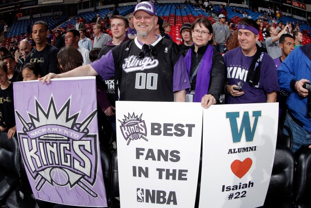Fans de los Sacramento Kings./ Getty Images