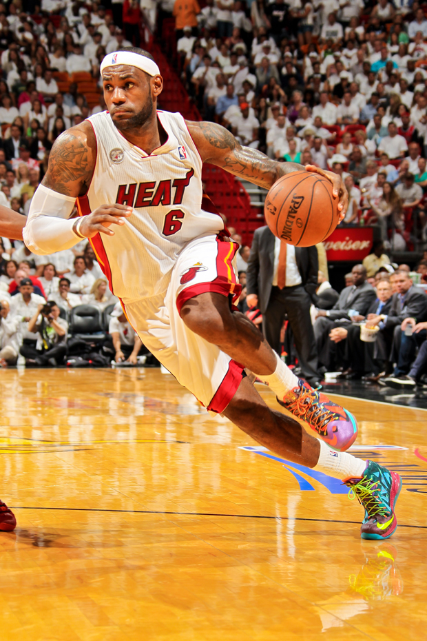 Nike - LeBron X 'MVP'./ Getty Images