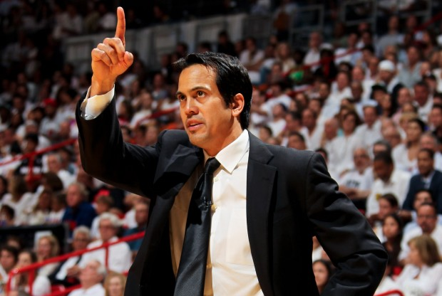 Erik Spoelstra./ Getty Images