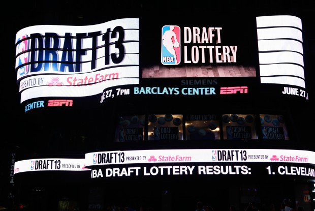 Draft Lottery./ Getty Images