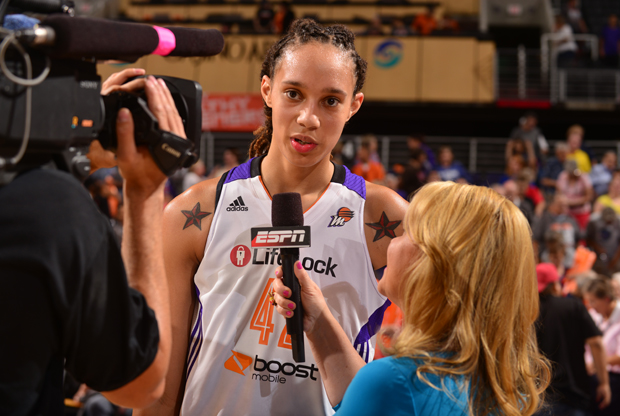 Brittney Griner./ Getty Images