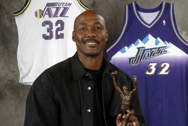 Karl Malone./ Getty Images