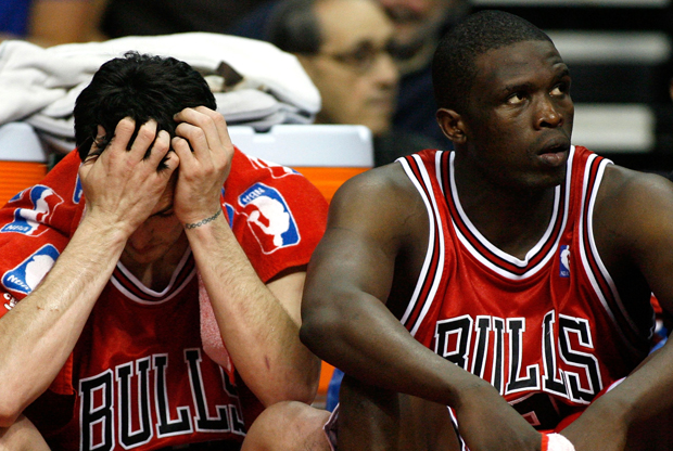 Luol Deng y Kirk Hinrich./ Getty Images